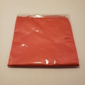 Other - Pocket Squares Coral Red Navy Blue